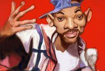 Art's in Caricatures