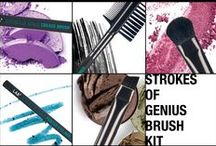 Strokes of Genius / ALL ABOUT THAT EYE. Our favorite winged liners, shimmery shadows, marvelous mascaras & more!