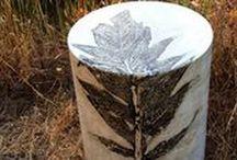 Pamela Holmes Tables / Concrete furniture and panels by Pamela Holmes