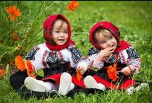 Proud Romanian children wearing traditional costumes! / These photos are the proof that are traditions and cultural values are far from being forgotten!
