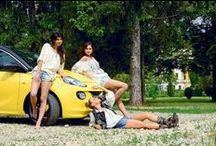 The Traditional Blouse & Opel ADAM / An awesome shooting with our friends from ProMotor Magazine featuring the traditional Romanian blouse, the famouse actress and singer Jojo- Catalina Grama, and the new Opel ADAM!
