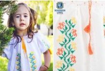 Kids Traditional Blouses / The traditional blouse is a 100% made out of natural materials that will give the childs body room to breath and move freely. Lovely to wear, the traditional blouse looks adorable on the little ones when paired with a innocent smile!