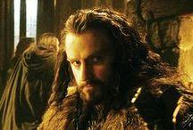 Thorin / Thorin Oakenshield as an inspiration for my FF writing and modern AUs character John Thorington || Links to my writing and art on my blog: kolmakov.ca