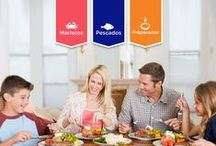 """""""Lo que nos trae EL MAR"""" / Tips y recetas de fácil preparación, consejos nutricionales y propuesta de platos deliciosos para tus ocasiones y personas especiales."""