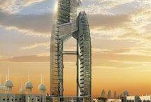 skyscrapers/modern architecture