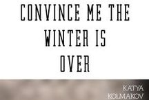 Convince Me the Winter is Over || Novel / Renee is a reclusive web designer, who after several hours of delirium from flu wakes up to find a stranger in boxer briefs in her bathroom. Renee, frozen in her neat and clean world of highly functional anxieties and her childhood history, is nothing but disturbed by the fervent gush of life that is John Greaves, but perhaps he can become the first breath of spring in her frigid world. http://www.amazon.com/dp/B00XJ16W7W