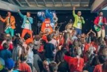 About us... / The MikMaks are Australia's newest and most colourful family music act.The band boasts the world's best drumming Panda 'Drums the Panda.' The MikMaks bring families together through music and laughter...