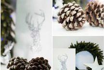 Diy Deer / Diy para realizar, paso a paso un reno de purpurina para la Navidad