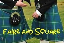 Faire and Square || FanFiction Story / Modern Hobbit AU where men with Tolkien names wear kilts and are not afraid to use them! When you go to a Renaissance faire, you can always find something to your liking there. Except how to choose between two brothers: Frerin, charming and cheeky, and Thorin, dark and predictably brooding? https://www.fanfiction.net/u/4633889/