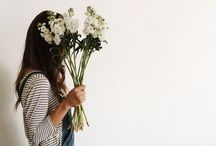 f l o w e r s & p e o p l e / I like flowers, I like people...  ..and I love them combined. Flowerpower.                                          E N J O Y