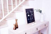 DIY Chalk Board-glass / Pintamos un cuadro sobre vidrio gracias a la utilización de un rotulador especial efecto pizarra