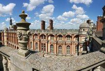 Les toits du château / Les toits du château de Saint-Germain-en-Laye et sa vue imprenable