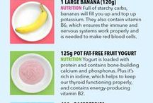Healthy Snack Recipes / 100kcal snacks to keep you full and satisfied in between meals.