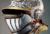 Burgonet helmets (Only historically accurate) / Early modern period (1492 – 1750) European helmets of the type burgonet / burganet, proto-burgonet, and closed burgonet. Closely related to, and often confused with armet type helmet.
