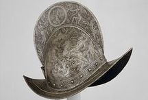 Morion helmets (Only historically accurate) / Early modern period (1492 – 1750) European helmets of the type morion. Closely related to, and often confused with cabasset type helmet.