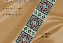 Loom ~Brick stich~ Peyote~Ladder Stich~Patterns,tutorials and videos