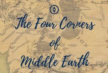 Four Corners of Middle Earth || LoTR FanFiction Story / At the brink of the War of the Ring, at the shores of Southern Gondor, Lothiriel, the Princess of Dol Amroth, encounters a strange couple: long dead King of Erebor Dwarves, Thorin, son of Thrain, and a woman of Men. The lives of the three of them, as well as of Eomer, of the House of Eorl, will intertwine through the war, through the perils, and the days of joy to come.