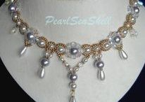 Bridal beaded jewelry