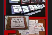 Revolutionary War Activities / Looking for Revolutionary War activities, ideas, lessons, or printables? Maybe you need interactive notebooks, worksheets, or maps to help you teach about the War for Independence. This is the place.