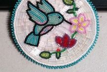 Bad River Anishinabe Style / Native American beadwork and craft / by Lori Tolliver