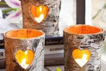 Interesting Candle Ideas / Candles for Rendezvous style use and more / by Lori Tolliver