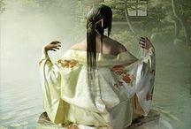 Kimono and Obi / Beautiful Kimonos and Obi / by Takashi Hsiao