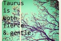 "Taurus things ♥ / My Zodiac Sign Earth The Bull ""I have"""