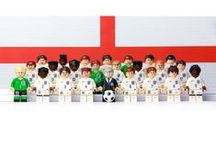 World Cup England Lego Team / Pixel8's founding partner Nigel has given his son the ultimate gift this World Cup season – the 2014 England football team recreated entirely using miniature lego.