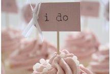 Wedding (Cup)Cakes ♡ / Bruiloftsstaarten en cupcake ideeën.