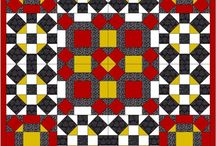 Chris & Barbara's Electric Quilt Picks / A selection of virtual quilts using the Electric Quilt design program