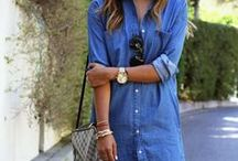 TREND TO TRY: Denim Shirtdress / So many ways to wear this flattering dress!