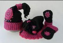 Crochet, Háčkované čiapky