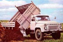ГАЗ-52/53 самосвалы