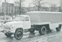 ГАЗ-52/53 седельные тягачи