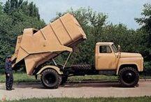 ГАЗ-52/53 коммунальная и дорожная техника