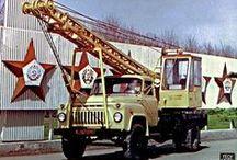 ГАЗ-52/53 строительная техника