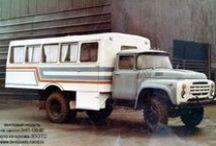 ЗиЛ-130 вахтовые автобусы