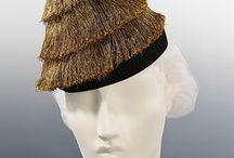 Schiaparelli fashion accessoris: hats, shoes, belts etc.
