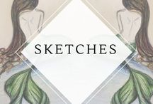 Sketches / Inspiration, tips, and guides to getting your sketch on!