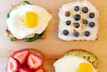 Food:  Healthy breakfast