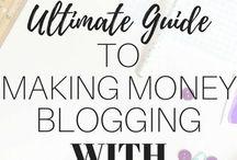 Blog:  Monetizing/Affiliate Marketing