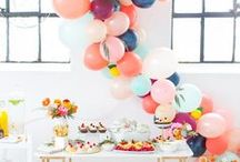 Party Ideas & Party Decor / Let's party!  This board features pins related to hosting a fabulous party including party decorations, party food, party favors, and plenty of DIY items.