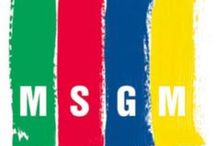 MSGM / MSGM is a line of clothing for men and women, designed by stylist Massimo Giorgetti and produced by Paoloni Group.  The brand debuted in 2009 with the first collection for men and women from a capsule that has been delighting audiences for trendy style, fresh and colorful, and the use of modern fabrics and refined, cut live, enhanced prints, worn effects and consumed, ruffles and embroidery.