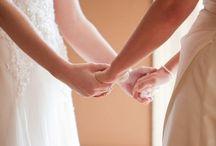 Wedding / Wedding, Lesbian Wedding, Winter Wedding, Vintage Wedding, Formal Wedding