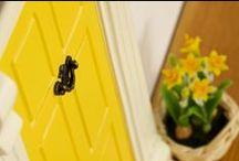 Easter / Fairy Door, Elf Door, Easter, miniature www.themagicdoorstore.com