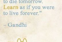 Creative Inspiration & Quotes to promote creativity