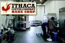 Our Bake Shop / Since October of 2014 our bake shop located in our Hancock St. roasting facility has been baking all new in house baked goods! We are making new items all the time so keep your eye out for more from the Ithaca Coffee Company Bake Shop!