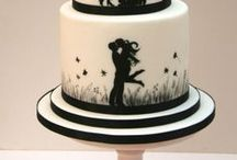 Wonderful Wedding Cakes / The wedding cake is the showpiece of the wedding.  Here are some gorgeous examples.