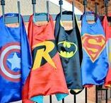 Superhero Parties / Doesn't matter if it's Batman, Superman, Ironman, or the Hunk, superhero parties are enormously popular with little boys.
