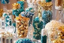 Delightful Party Color Themes / Part of the fun of a party is coming up with a unique and colorful color theme.  Here are some ideas that might help.